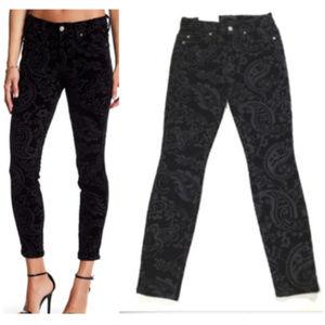 7FAM Jeans Ankle Super Skinny Velvet 0995_25E1M